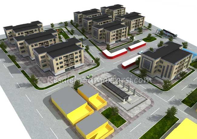 رساله طراحی مجتمع، شهرک مسکونی