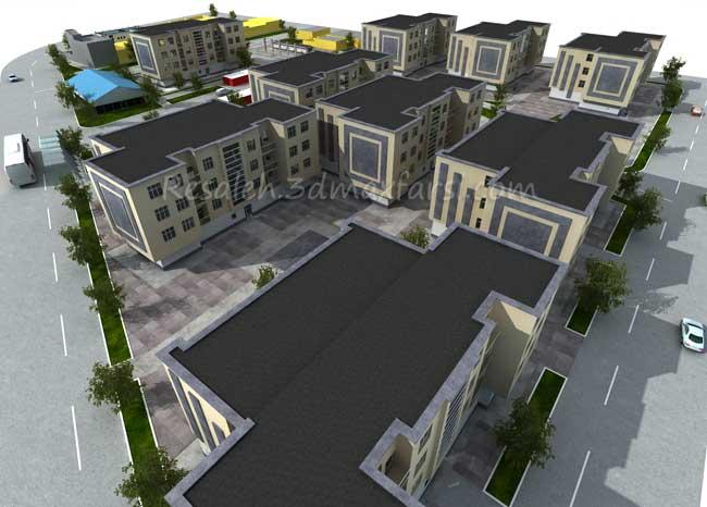رساله معماری مجتمع، شهرک مسکونی