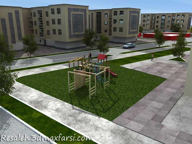 نمونه مجتمع، شهرک مسکونی