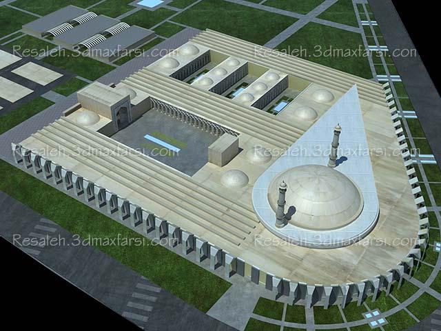 دانلود رساله مصلا پروژه پایان نامه معماری