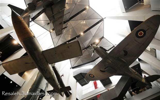 دانلود رساله موزه جنگ : پایان نامه و رساله معماری + نقشه های اتوکد رایگان