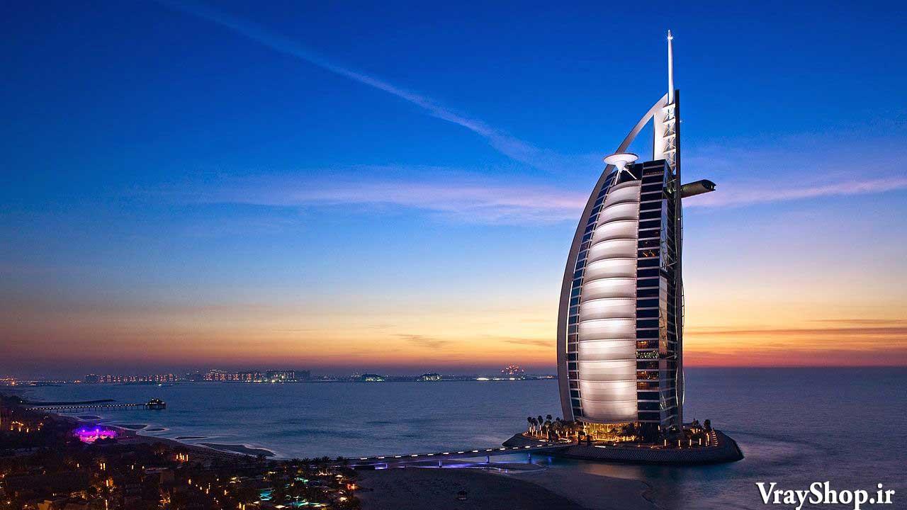 رساله هتل 5 ستاره دبی