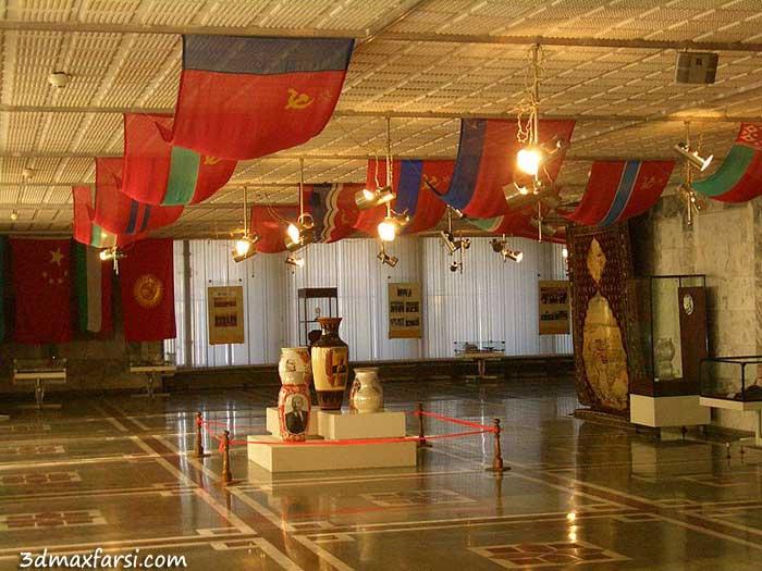رساله پایان نامه نمایشگاه و موزه صنایع دستی