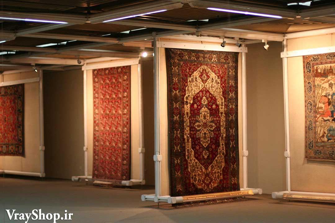 دانلود رساله موزه فرش و پایان نامه معماری نمایشگاه فرش