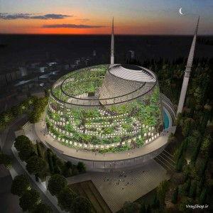 طراحی مدرن رساله مسجد