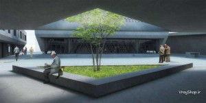 نمونه مشابه طراحی رساله مسجد