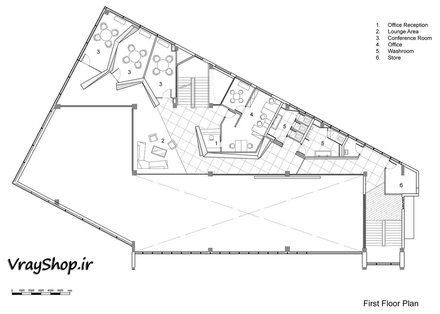 پلان خانه هنرمندان
