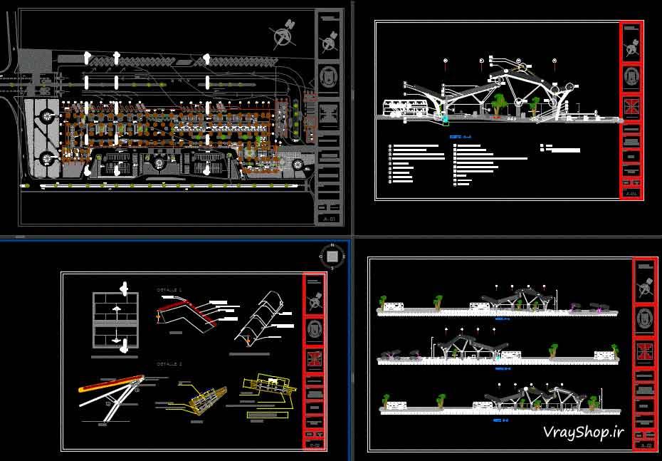 دانلود رایگان نمونه مشابه برنامه فیزیکی رساله ترمينال مسافربری
