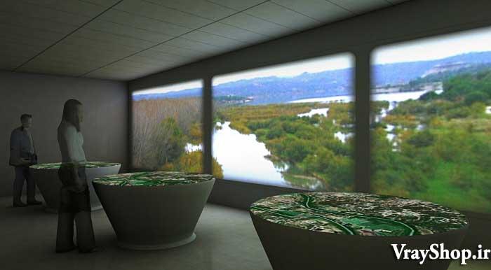 دانلود ایده های طراحی برای طراحی رساله نمایشگاه گالری