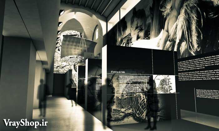 دانلود ایده های طراحی برای طراحی رساله نمایشگاه تاریخ
