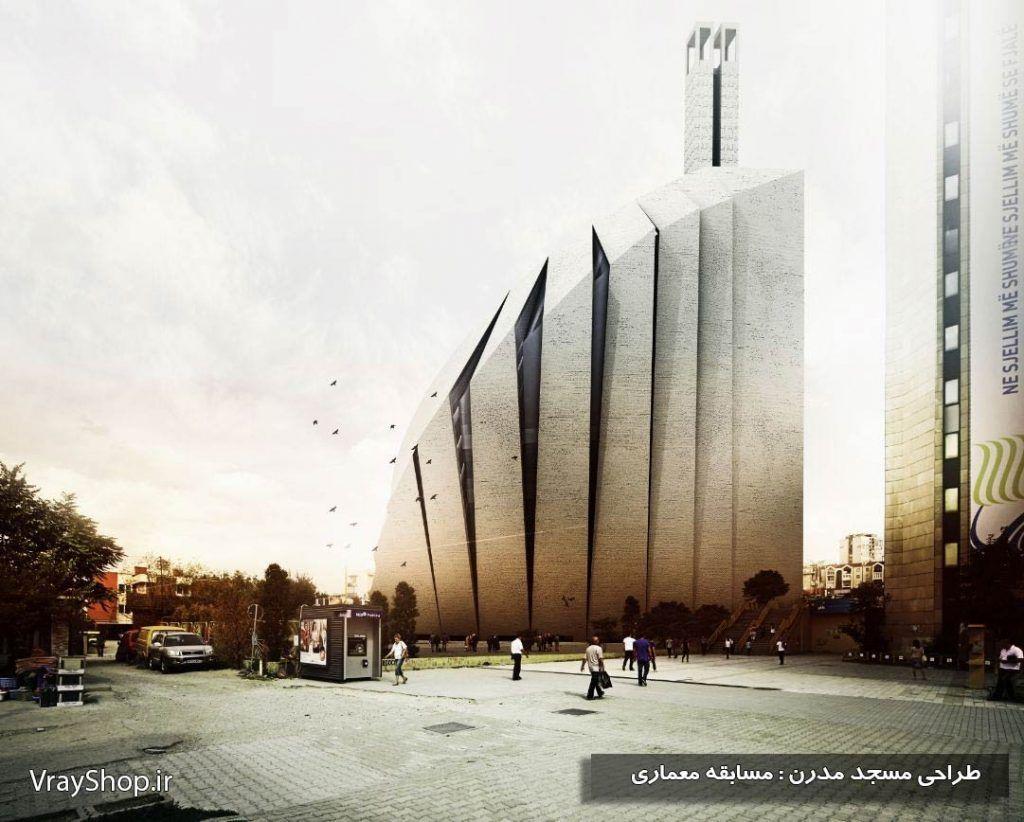 دانلود پایان نامه معماریمسجد