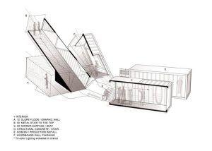 دانلود پلان رصدخانه نما برش پرسپکتیو نمونه مشابه