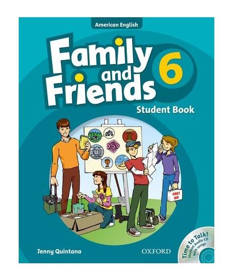 نمونه سوال فمیلی اند فرندز Family and friends 6