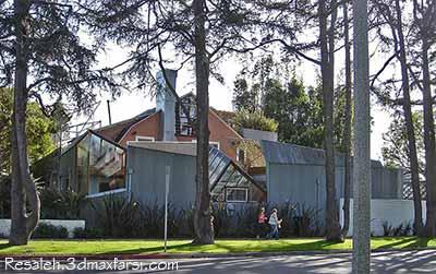 مجتمع مسکونی فرانک گری Frank Gehry