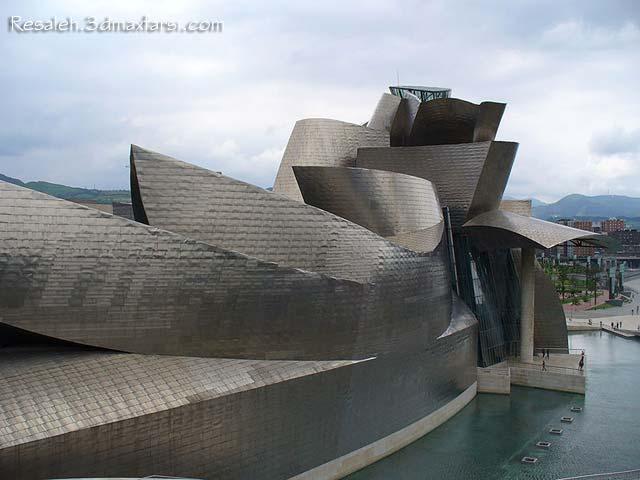 Guggenheim Museum Bilbao Frank Gehry سبک دیکانستراکشن