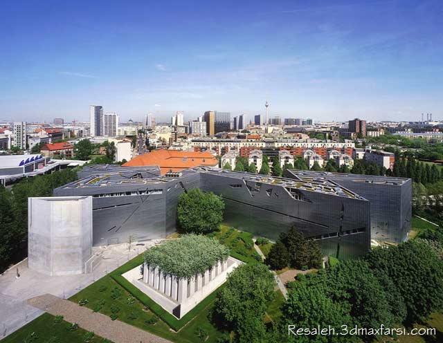 سبک دیکانستراکشن موزه یهود برلین آلمان