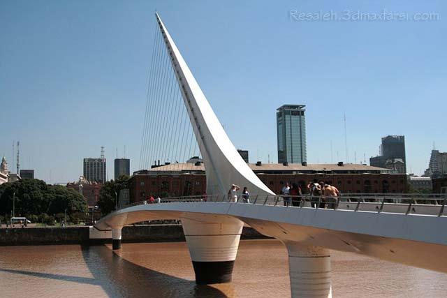Puente de la Mujer سبک دیکانستراکشن