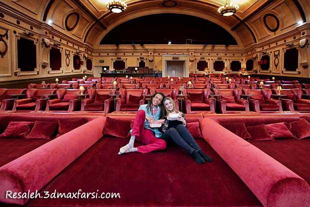 رساله پردیس سینمایی لندن