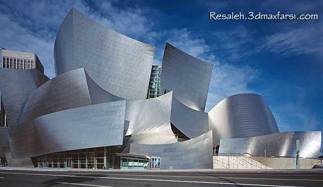 Walt Disney Concert Hall Frank Gehry فرانک گری