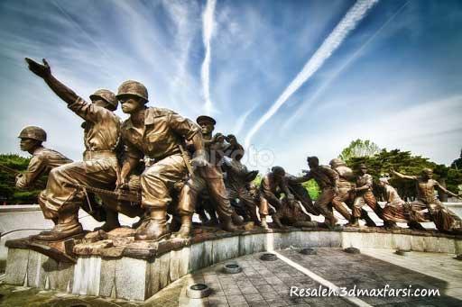 موزه جنگ کره جنوبی